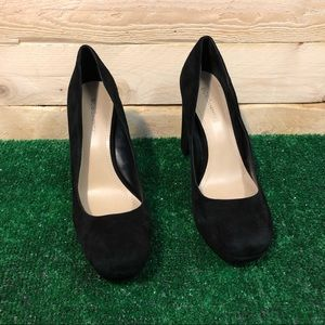 BCBGeneration Black Suede  Finelle x Pumps